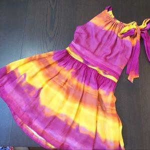 Express sunset dress